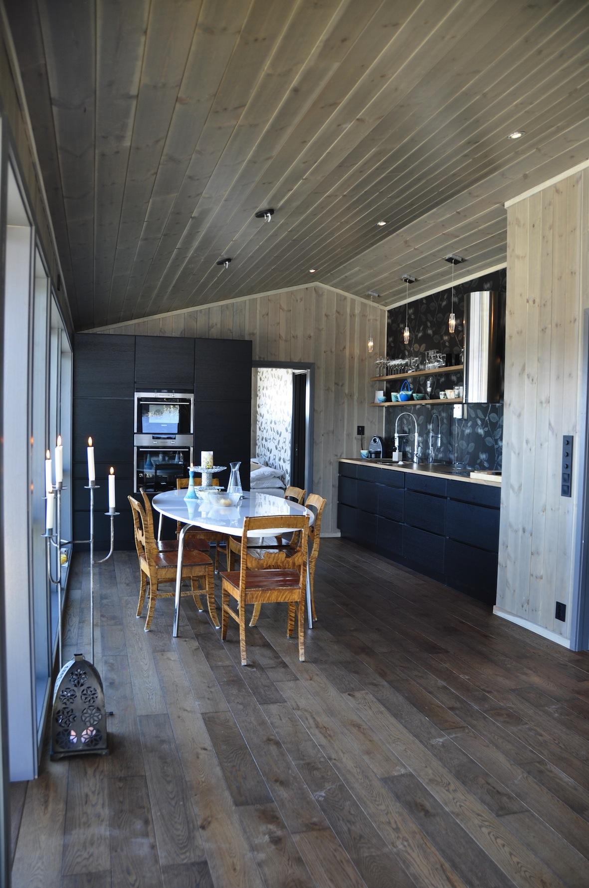 Interior Liten Hytte   arrangement